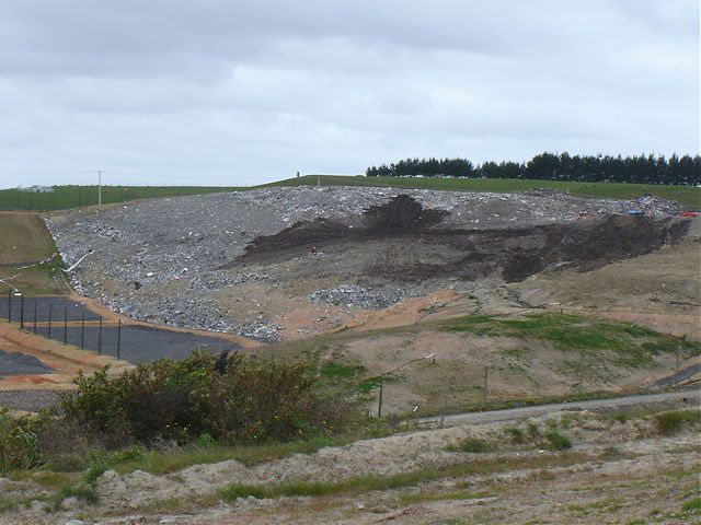 Hampton Downs landfill